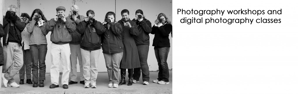 Photo workshops: Digital photo classes group photo